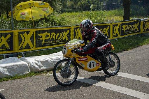 Motor Racing, 50 Cc, The Demo, Kreidler, Demorace