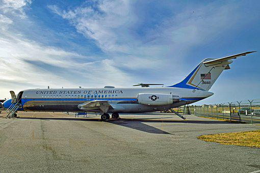 Air Force Two, Retired 2011, Airplane, Jet, Aircraft