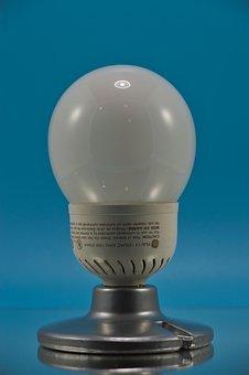 Lamp, Fluorescent, Old, Retro, Light, Lighting, Bulb