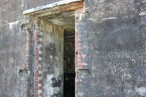 Fort Morgan, Doorway, Missing Door, Fortification