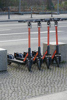 Roller, E-scooter, Electric Scooter, Emission-free