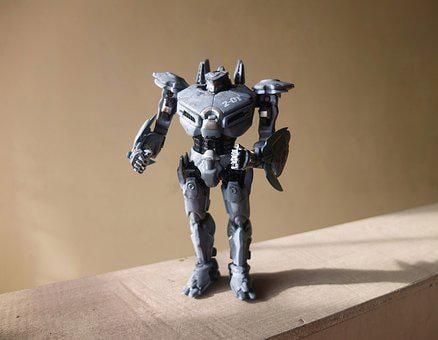 Robot Toy, Striker, Eureka, Film, Video, Movie