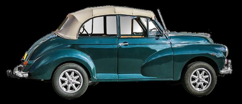 Morris Minor 1000, Oldtimer, Folding Roof, Auto