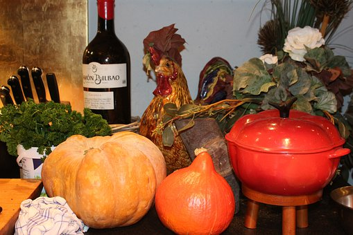 Pumpkin, Kitchen, Autumn, Food, Delicious, Orange