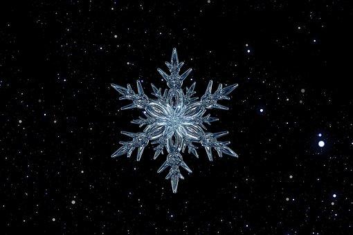 Snowflake, Ice Crystal, Ice, Form