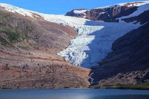 Norway, Glacier, Svartisen, Landscape, Nature, Ice