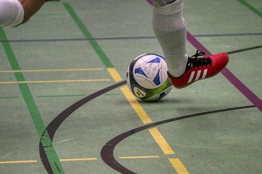 Indoor Soccer, Football Shoe, Shot, Football, Sport
