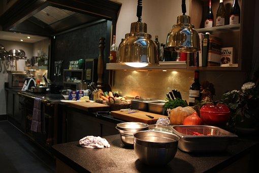 Cook, Kitchen, Restaurant, Spices