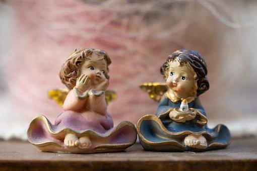 Angel, Macro, Figure, Kitsch, Miniature, Small