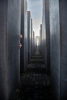 Halloween, Hands, Horror, Berlin, Monument, Germany