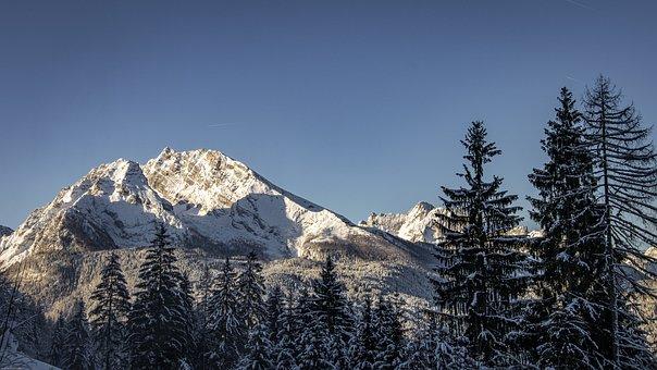 Mountains, Winter, Snow, Landscape, Nature, Alpine, Ice