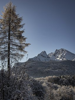 Mountains, Winter, Snow, Landscape, Nature, Alpine, Ice