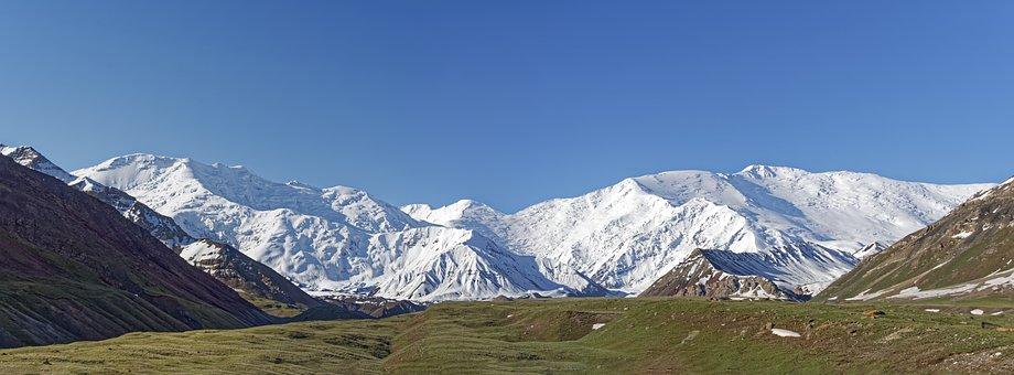 Kyrgyzstan, Mountains, Landscape, Nature, Clouds, Sky