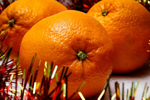 New Year's Eve, Oranges, Fruit, Food, Nutrition