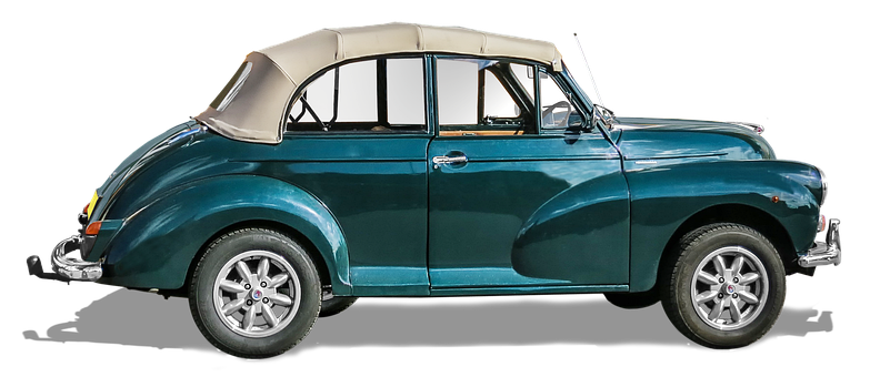 Morris Minor 1000, Oldtimer, Folding Roof, Auto