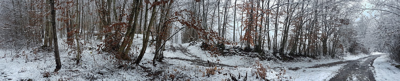 Snow, Outdoors, Wintry, Alone, Rock, Winter, Mountains