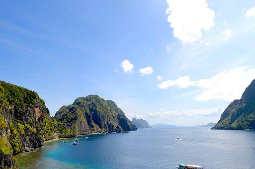 Island Hopping, Tropics, Philippines, Palawan, Beach