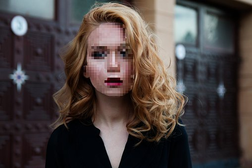 Pixelated, Face, Woman, Pixel, Anonymous, Safety