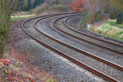 Rails, Railroad Tracks, Rail, Railway, Gleise