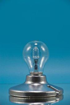 Lamp, Incandescent, Halogen, Old, Retro, Light