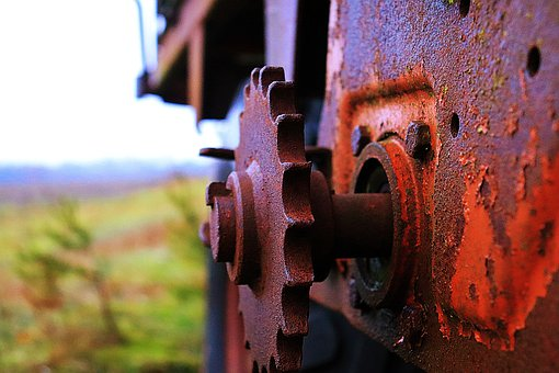 Rust, Nature, Gear