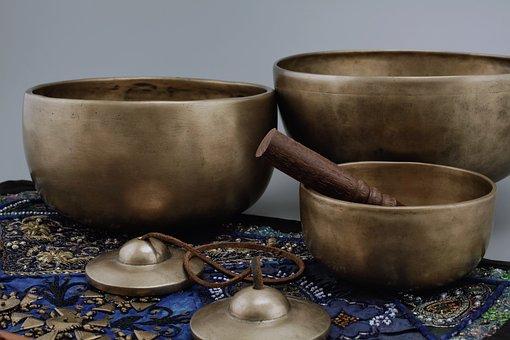Symbol, To Heal, Vibration, Healing, Singing Bowls