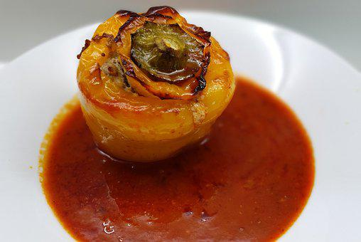 Stuffed Peppers, Paprika, Lunch, Filled, Tasty, Cook