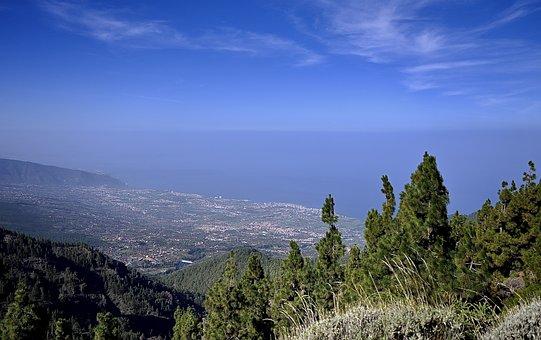 Sky, Blue, Tenerife, Puerto Cruz, Teide, National Park