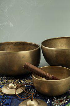 Singing Bowls, Meditation, Sound, Tibet, Relaxation