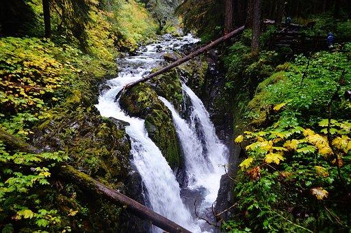 Sol Duc Falls, Water Falls, Triple Water Falls