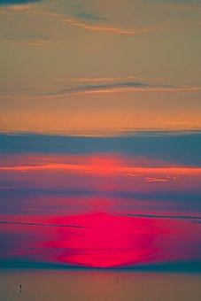 Sun, Sea, Beach, Ocean, Sky, Nature, Water, Landscape