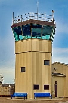 Flight, Tower, Air Traffic Control, Airport, Aviation