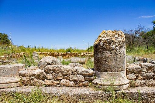 Antique, Pillar, Antiquity, Architecture