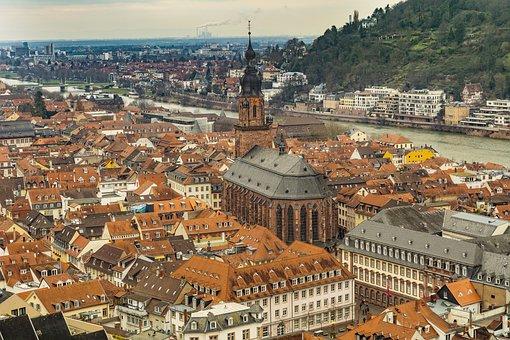 Heidelberg, Town, Baden-württemberg, Architecture