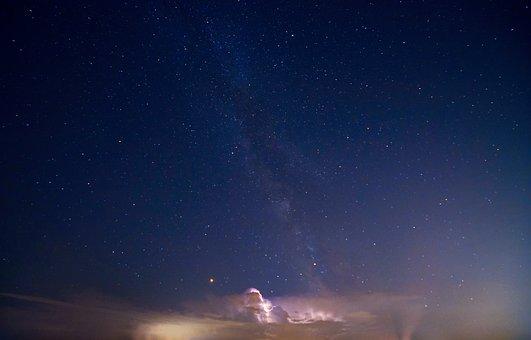 Astronomy, Starry Sky, Sky, Universe, Milky Way, Night
