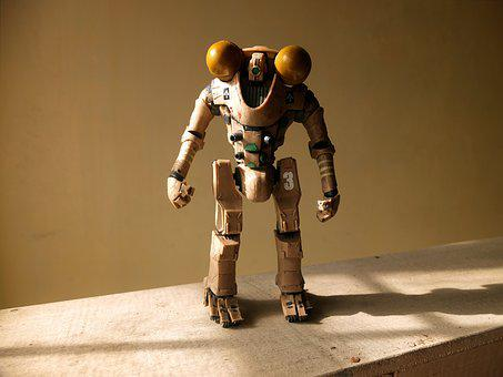 Robot Toy, Brave, Horizon, Pacific, Rim, Film, Video