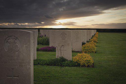 Memorial, Cemetery, Normandy, Monument, Burial