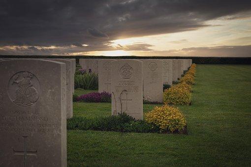 Memorial, Cemetery, Normandy, Monument, Burial