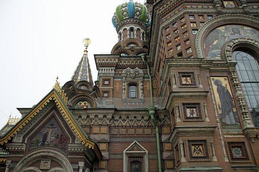 Church Of The Savior, St Petersburg, Russia, Tourism