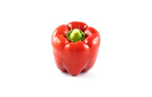 Paprika, Red, Vegetables, Eat, Food, Cook, Vitamins