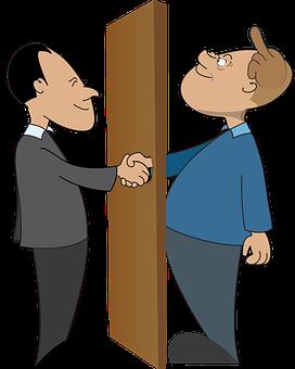 Business, Business Deal, Handshake, Dishonest