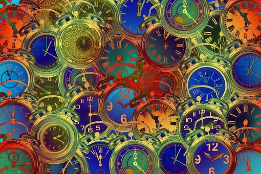 Time, Clock, Distortion, Time Distortion, Alarm Clock