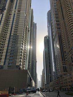 Dubai, Buildings, City, Skyscrapers, Tourism, Emirates