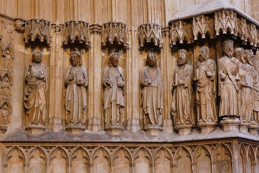 Image, Statue, Sculpture, Stone, Holy, Figure