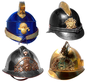 Fire Fighter Helmet, Helmet, Emblem, Firefighter