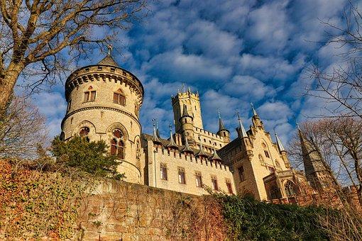Castle, Fortress, Wall, Castle Wall
