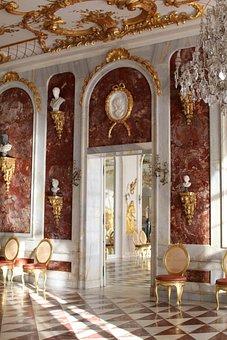 Sanssouci, Marble, Hall, Berlin, Potsdam