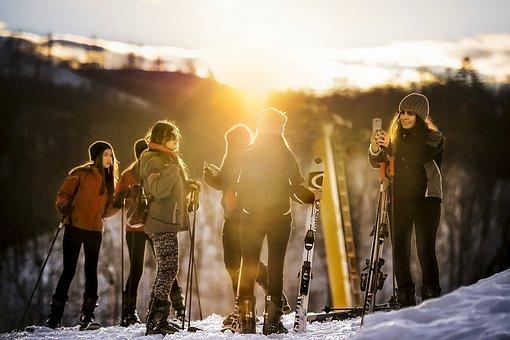 People, Ski, Skier, Holiday, Winter, Snow, Sport