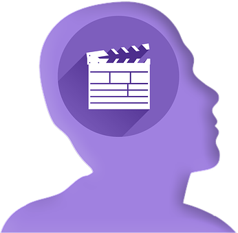 Icon, Head, Profile, Film, Flap, Cinema, Filmklappe