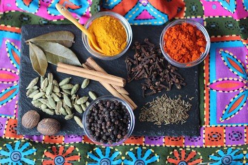 Garam Masala, Spices, India, Asia, Colorful, Curry